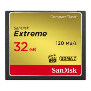 32GB Sandisk CF Memory Card (Compact Flash)