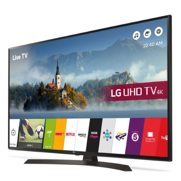 60 Inch LED 4K TV (4K UHD) With 6 Foot Stand