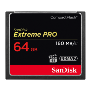 64GB Sandisk CF Extreme Pro Memory Card (Compact Flash)