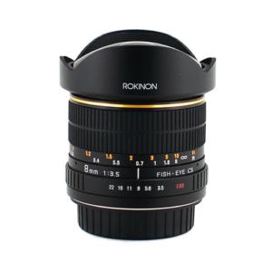 Rokinon 8mm Fisheye Lens F3.5 (Canon EF Mount)