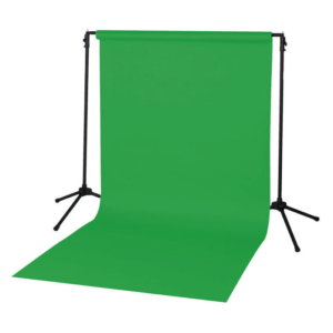 Backdrop Vinyl Green Screen 2m x 3m With Goal Posts