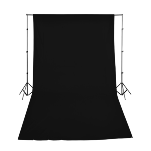 Backdrop Black Cloth Screen With Goal Posts (Various Sizes Available)