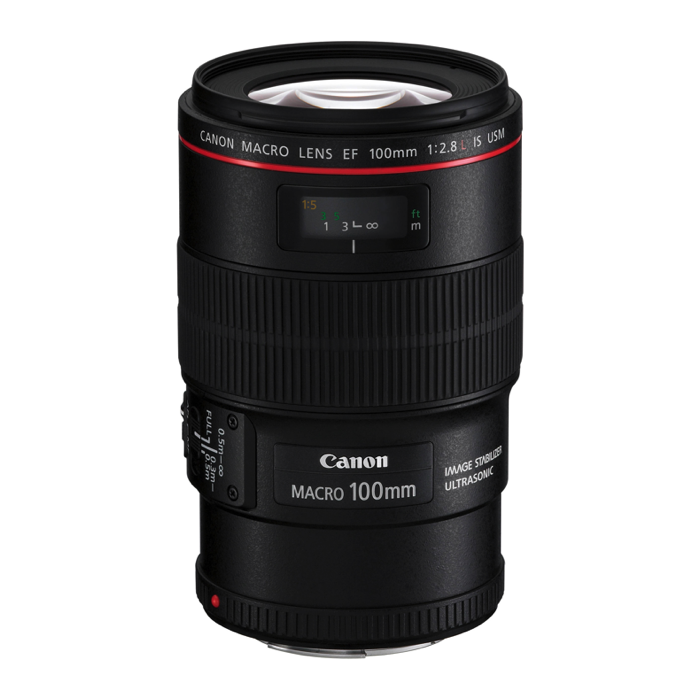 Canon EF 100mm Macro IS USM F2.8L Lens