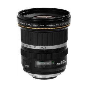 Canon EF-S 10-22mm f/3.5-4.5 USM Lens (EF-S Mount)