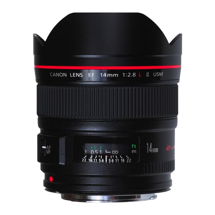 Canon EF 14mm MKII USM F2.8L Lens