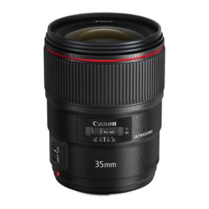 Canon EF 35mm USM F1.4L Lens