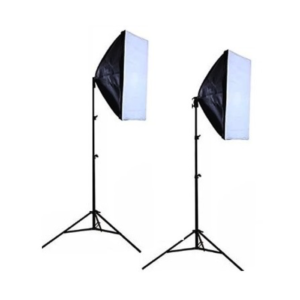 Softbox 150W 2x Head Basic Studio Lighting Kit