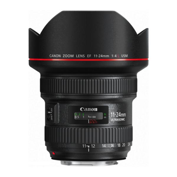 Canon EF 11-24mm USM F4L Lens