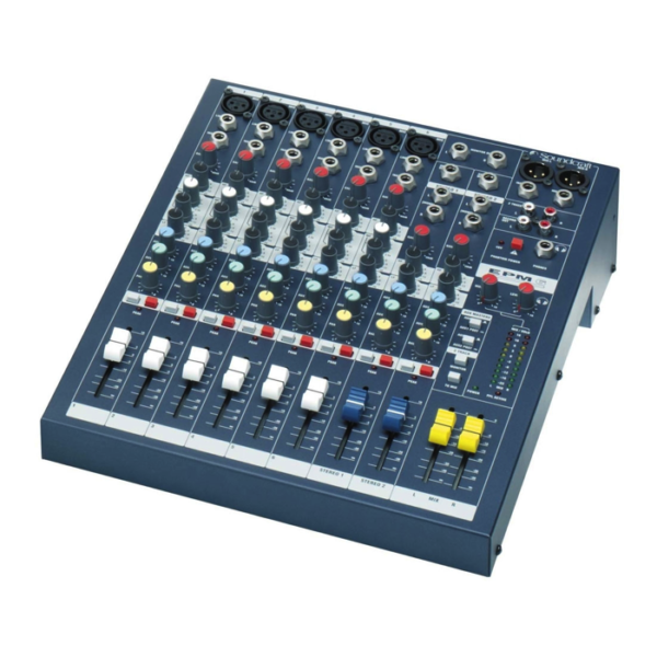 Soundcraft EPM6 Analog Mixer (6 Microphone Inputs)
