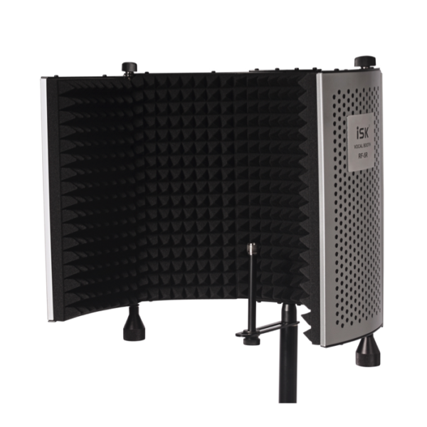 Portable Vocal Booth With Floor Stand (Mic & Pop Shield NOT Included)