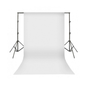 Backdrop White Cloth Screen With Goal Posts (Various Sizes Available)