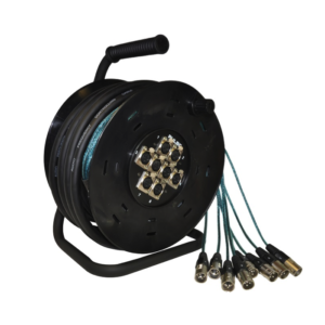 XLR 8 Way 15 Meter Male To Female Multicore Snake